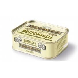 kawałki tuńczyka błękitnopłetwego (buzzonaglia) w oleju słonecznikowym 340 g Campisi Conserve - 1