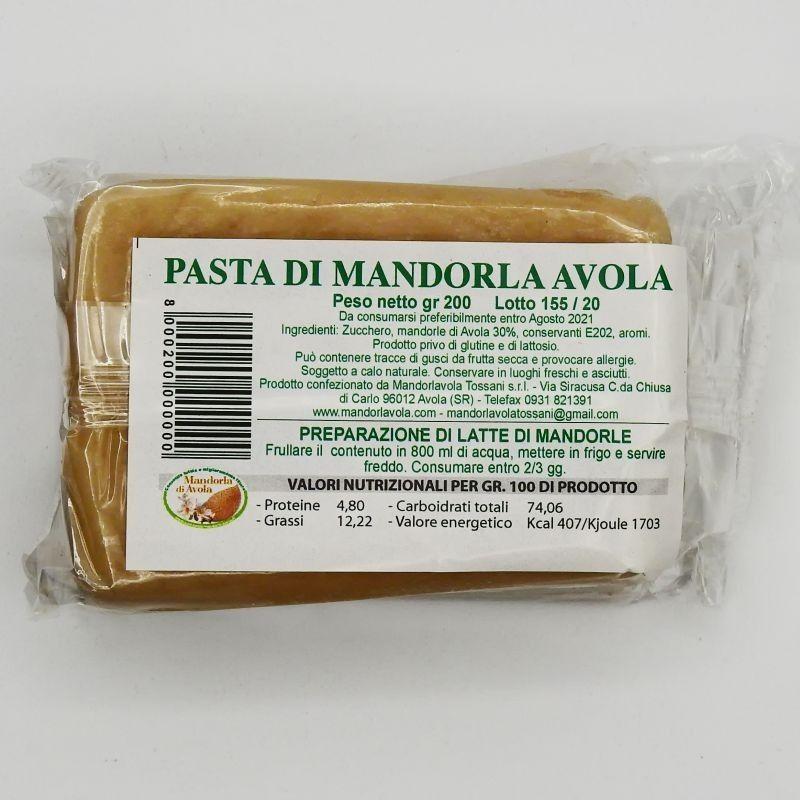 Pasta de almendra blanca | Tossani - Wikipedia