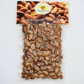 shelled roasted and salted almonds 250 g Tossani srl
