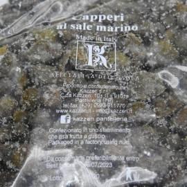 alcaparras de pantelleria de sal marina 250 g Kazzen Srl - 2