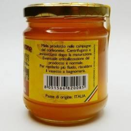 Sicilian black bee orange blossom honey from corleone 250 g Comajanni Giuseppe - 3
