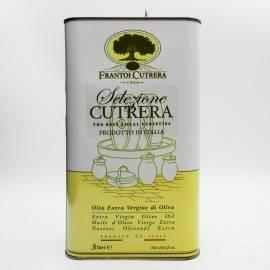 cutrera wybór - extra virgin oliwa z oliwek cyna 3 lt Frantoi Cutrera - 2