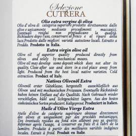 cutrera wybór - extra virgin oliwa z oliwek cyna 3 lt Frantoi Cutrera - 4