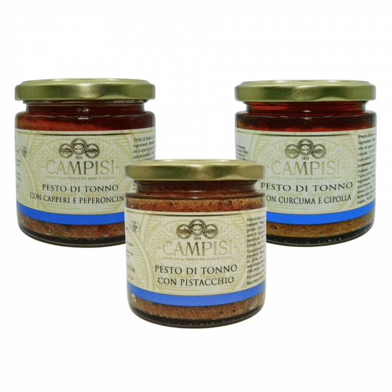 Tuńczyk Pesto Combo Campisi Conserve - 1
