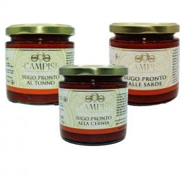 Sauces de poisson Combo Campisi Conserve - 1