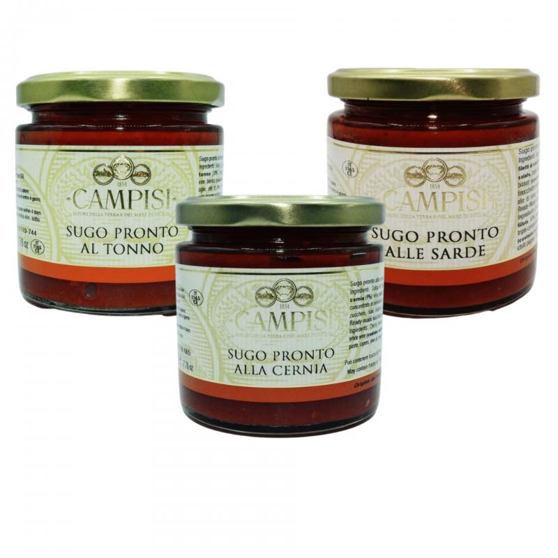 Salsas de Pescado Combo Campisi Conserve - 1