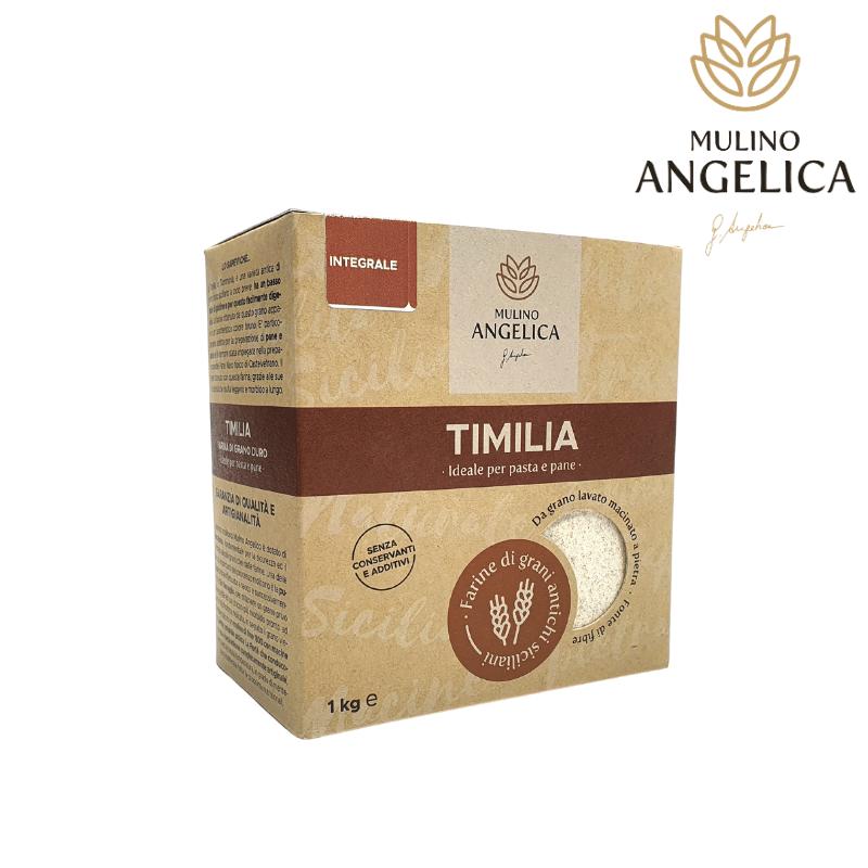 Sicilian Whole Wheat Flour Timilia Type Mulino Angelica - 1