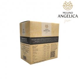Органическая цельная пшеничная мука Perciasacchi 1кг Mulino Angelica - 2