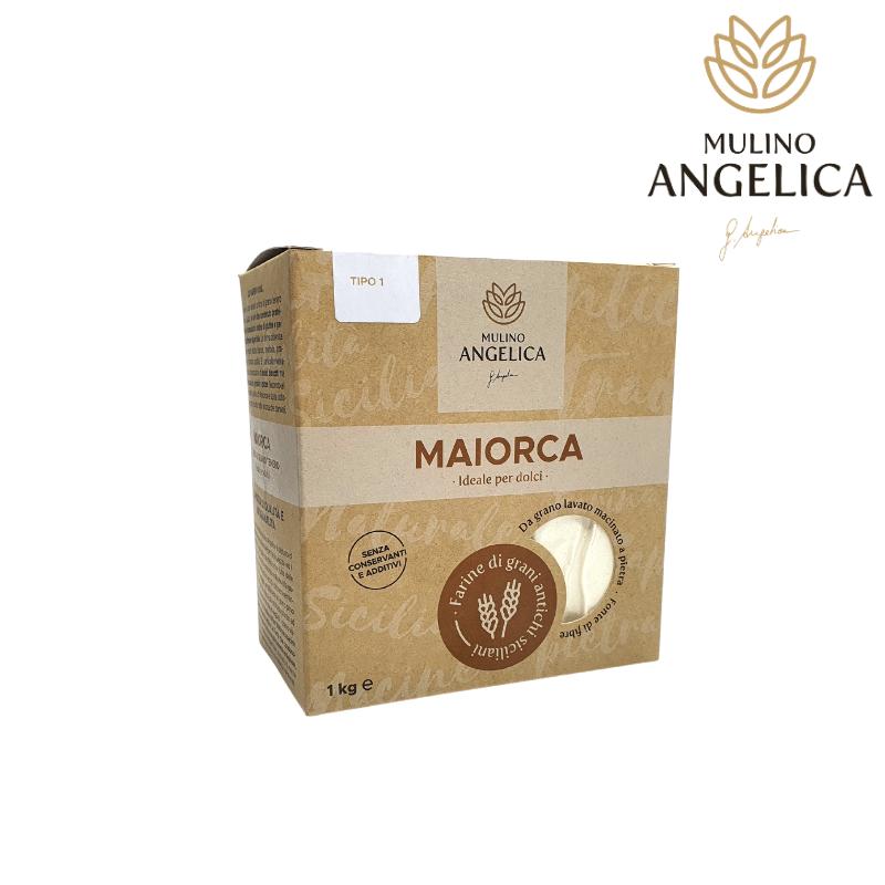 Farine de blé sicilienne Majorque De type 1 Mulino Angelica - 1