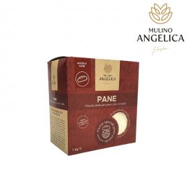 Harina de pan de grano antiguo siciliano 1kg Mulino Angelica - 1