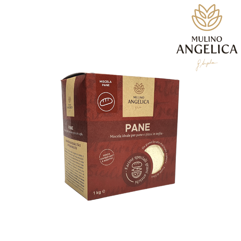 Farinha de pão de grão antigo siciliano 1kg Mulino Angelica - 1