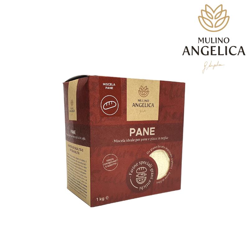 Сицилийская древняя зерновая хлебная мука 1кг Mulino Angelica - 1