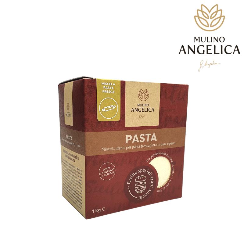 Sizilianische Grani Pasta Mehl 1kg Mulino Angelica - 1
