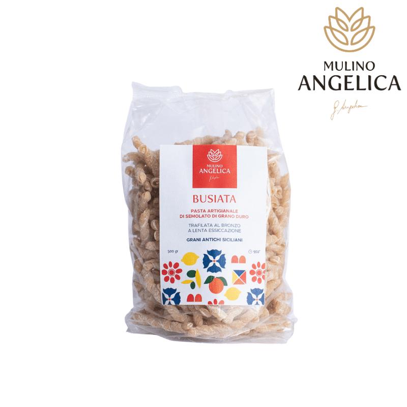 Pasta di Semola di Grano Duro - Busiata 500g Mulino Angelica - 1