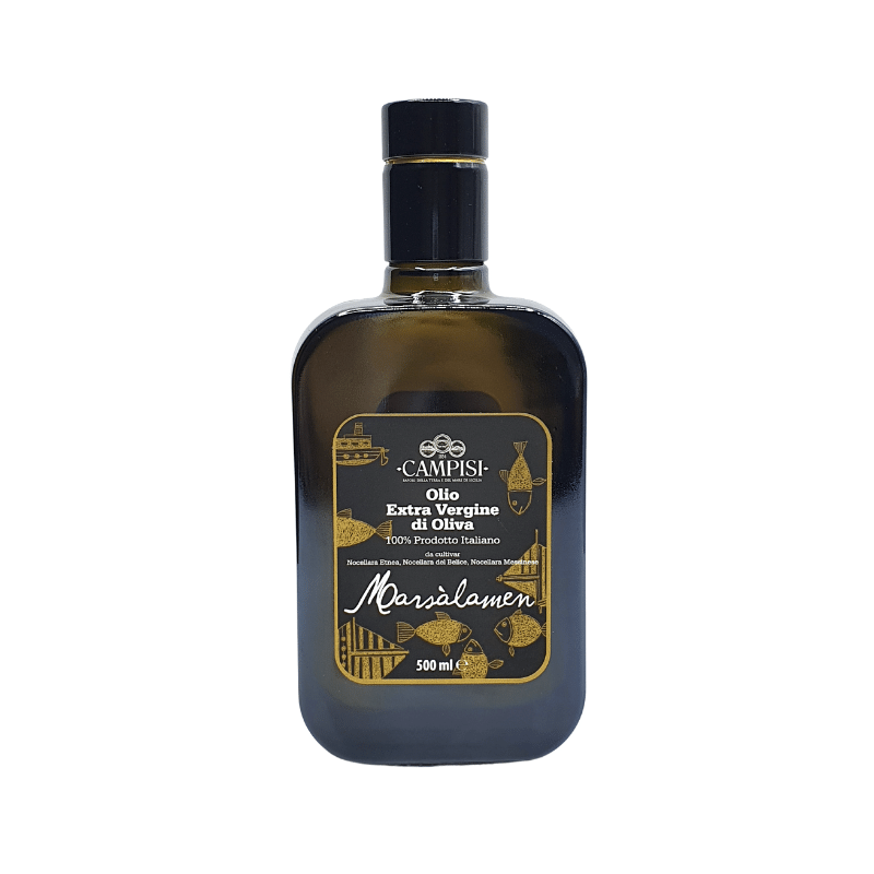 Марсаламэн Экстра Девы Оливковое масло - Камписи Campisi Conserve - 1