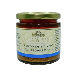 tuna pesto with turmeric and onion 210 g Campisi Conserve - 1