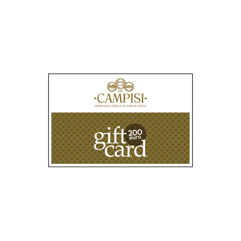 tarjeta regalo 200 euros Campisi Conserve - 1