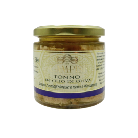 tuna in olive oil Campisi Conserve - 1