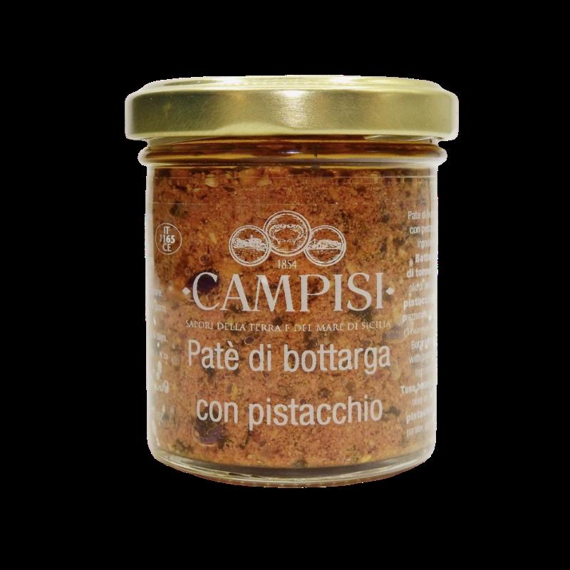 ピスタチオ Campisi Conserve とボッタルガパテ - 1