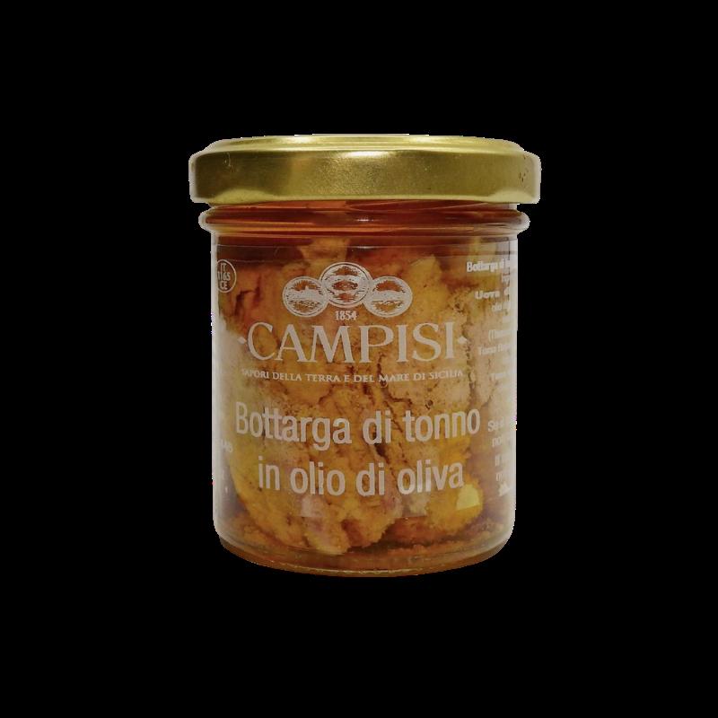 オリーブオイル90g Campisi Conserve のマグロボッタルガ - 1
