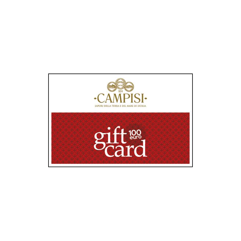 tarjeta regalo 100 euros Campisi Conserve - 1