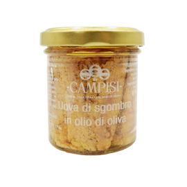 mackerel eggs in olive oil 90 g Campisi Conserve - 1