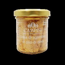 oeufs de maquereau à l'huile d'olive 90 g Campisi Conserve - 1
