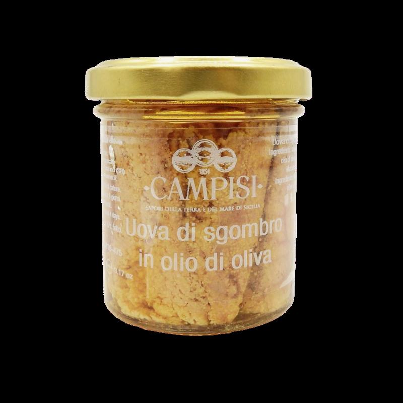 яйца скумбрии в оливковом масле 90 г Campisi Conserve - 1
