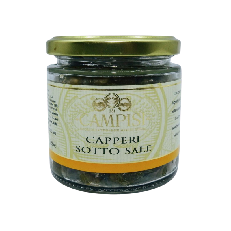 salted capers 150 g Campisi Conserve - 1