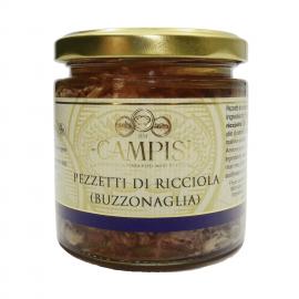 piezas de amberjack (buzzonaglia) 220 g Campisi Conserve - 1