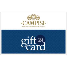 Geschenkkarte 50 Euro Campisi Conserve - 1