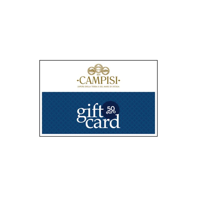 tarjeta regalo 50 euros Campisi Conserve - 1