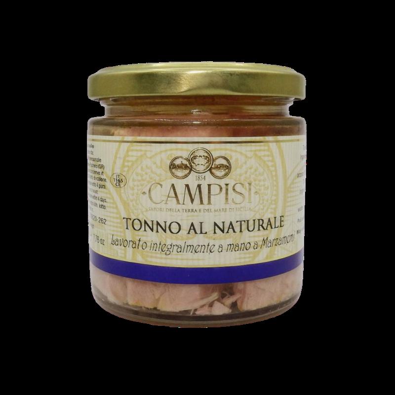 thon naturel 220 g Campisi Conserve - 1