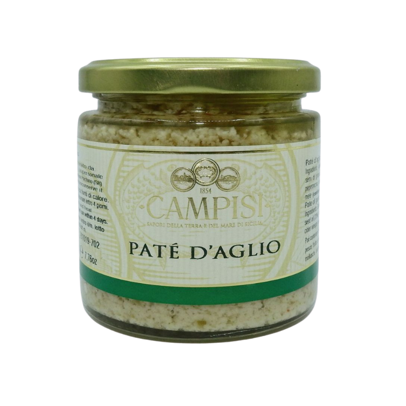 чесночный паштет 220 г Campisi Conserve - 1