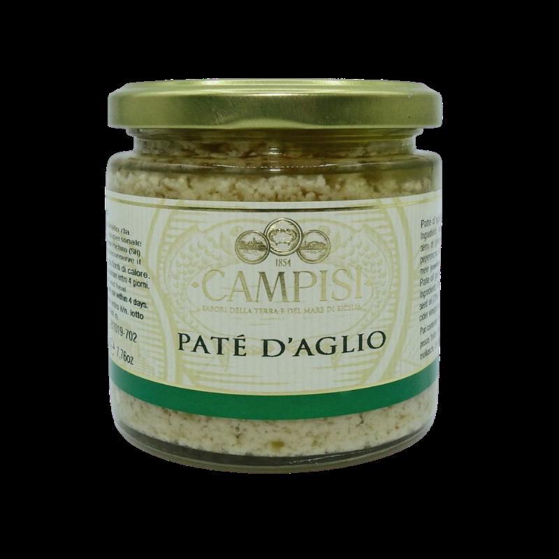 pâté à l'ail 220 g Campisi Conserve - 1