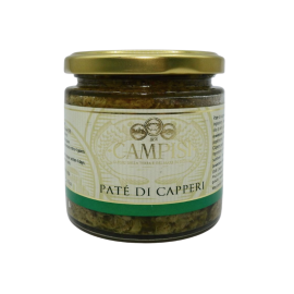 pâté câpres 220 g Campisi Conserve - 1