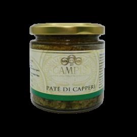 paté di capperi 220 g Campisi Conserve - 1