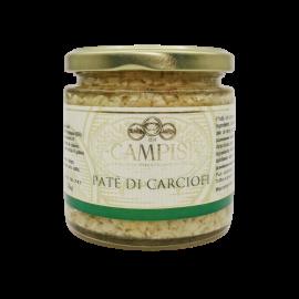 pâté d'artichauts 220 g Campisi Conserve - 1
