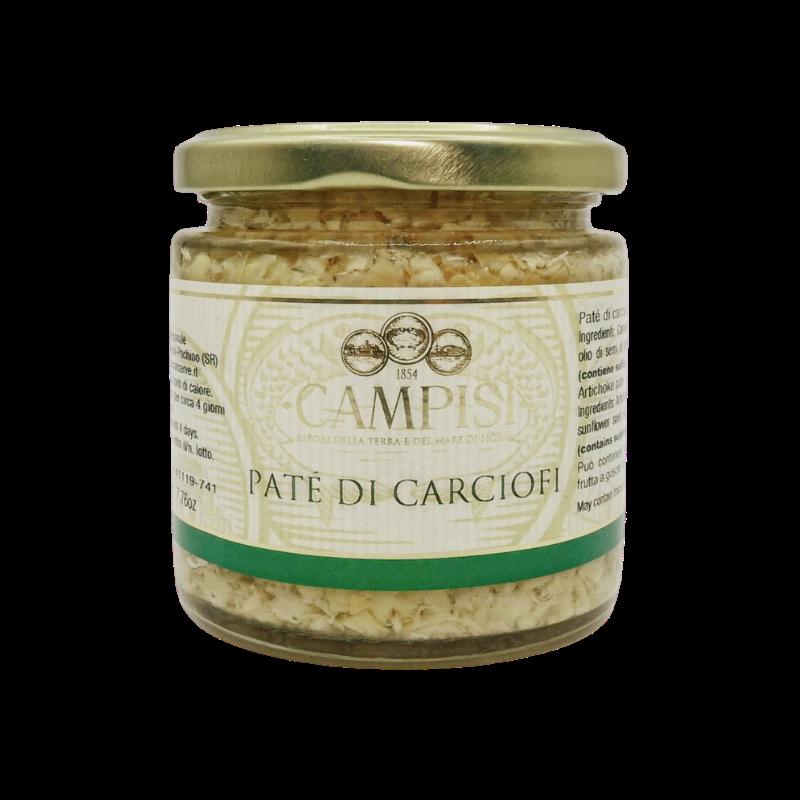 alcachofa pâté 220 g Campisi Conserve - 1