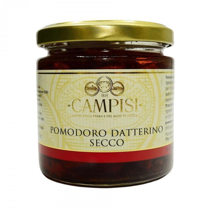 tomate de data seca 220 g Campisi Conserve - 1