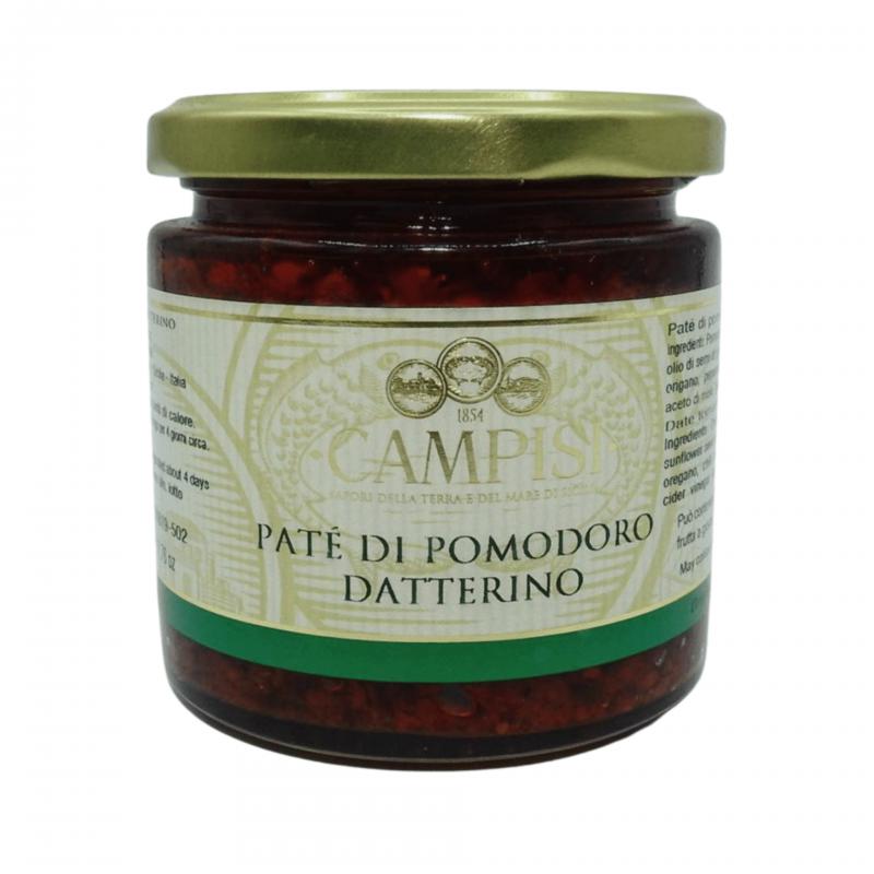 datterino tomato pate 220 g Campisi Conserve - 1