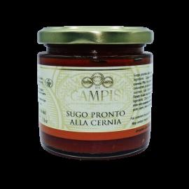 Grouper fertig Sauce 220 g Campisi Conserve - 1