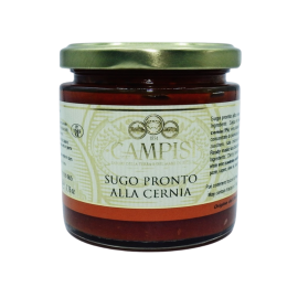 ready-made grouper sauce 220 g Campisi Conserve - 1