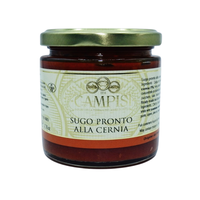 salsa lista para mero 220 g Campisi Conserve - 1