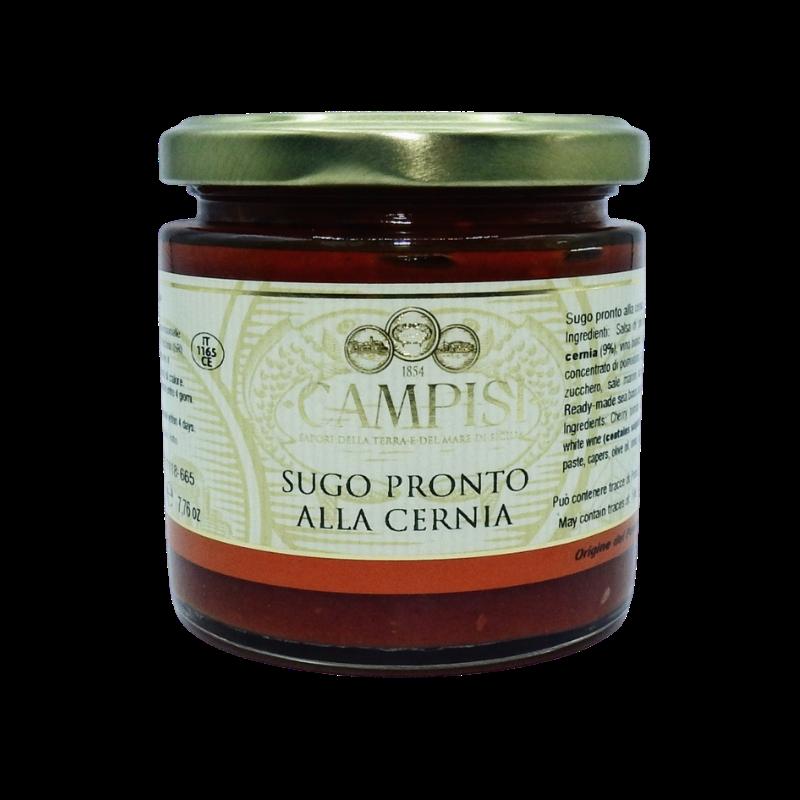 sauce prête pour le groupeur 220 g Campisi Conserve - 1
