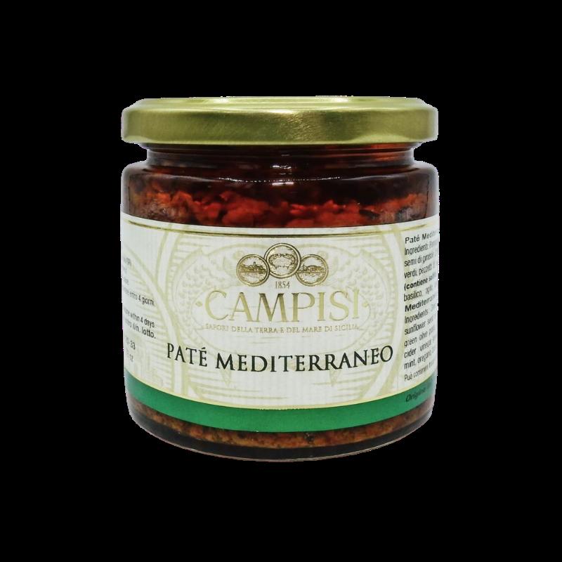 Средиземноморский паштет' 220 г Campisi Conserve - 1