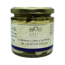 ケッパー付きのグループ220グラム Campisi Conserve - 1