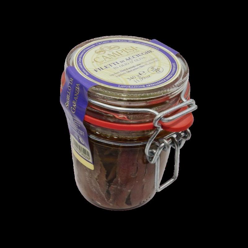 Filets von Sardellen extra Vase erm. Campisi Conserve - 9