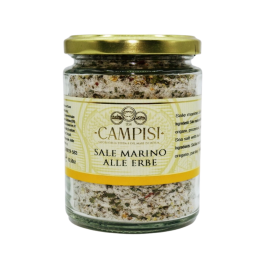 Meersalz mit Kräutertopf 300 g Campisi Conserve - 1