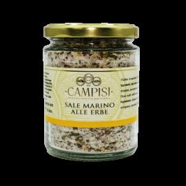 sal marina con hierbas olla 300 g Campisi Conserve - 1